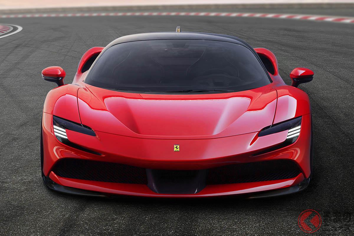 フェラーリ初となるPHEVモデル「SF90ストラダーレ」