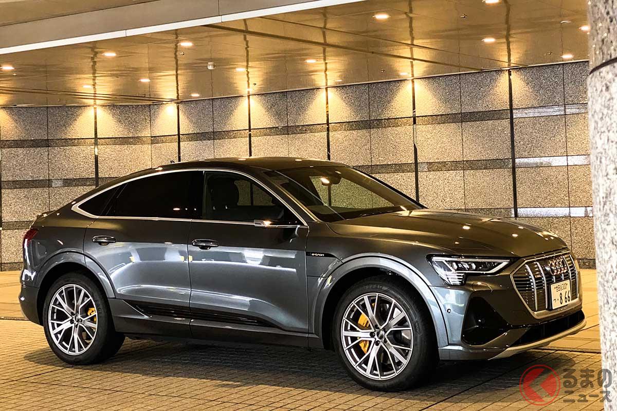 内燃機関のクルマと電気自動車はまったく別の乗り物だと考えるべきだが、その考え方を一変させたアウディ「e-tron スポーツバック」