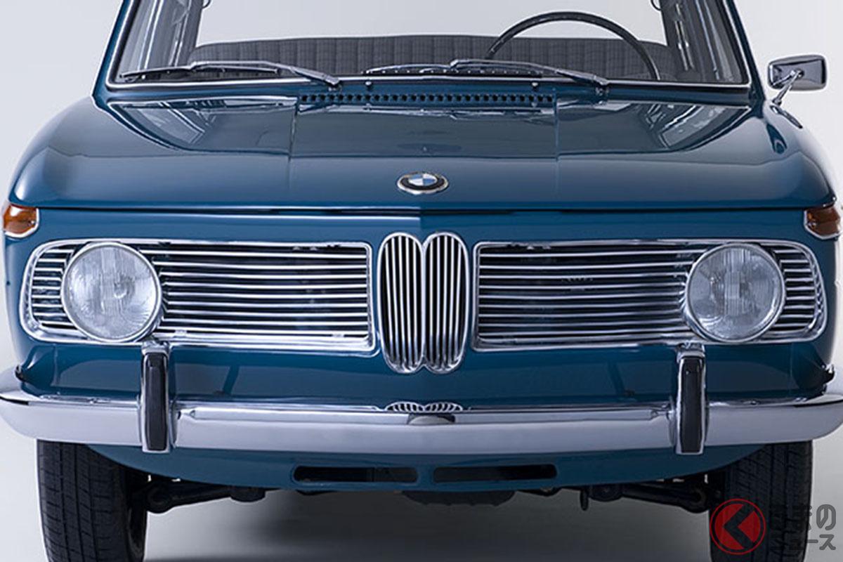 1961年に登場したBMW「1500」。これがヒットし、BMWは倒産の危機を免れた。ノイエ・クラッセ(新しいクラス)という社内での呼称がそのままこのモデルの愛称になった