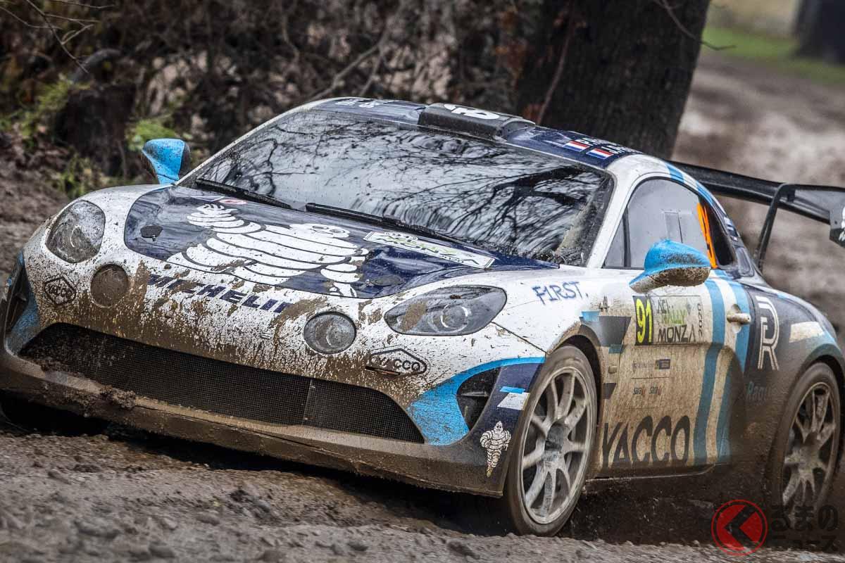 2020年12月3日から6日にかけて開催されたWRC第7戦ラリー・モンツァに初参戦、初クラス優勝を果たしたアルピーヌ「A110ラリー」