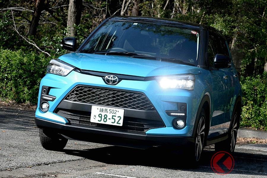 トヨタのエントリーSUVとなる新型「ライズ」