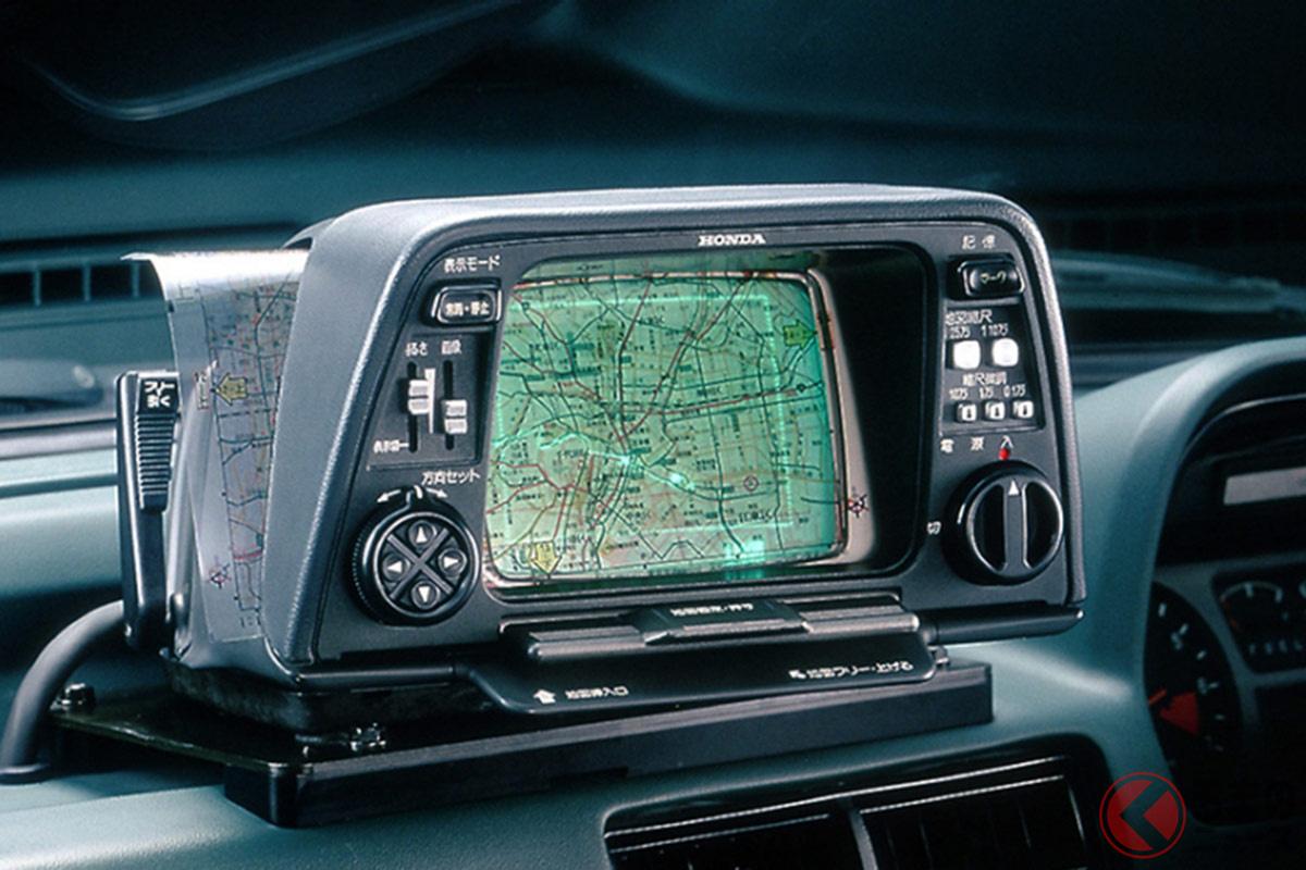 1981年にホンダが2代目「アコード」に採用された「ホンダ・エレクトロ・ジャイロケーター」