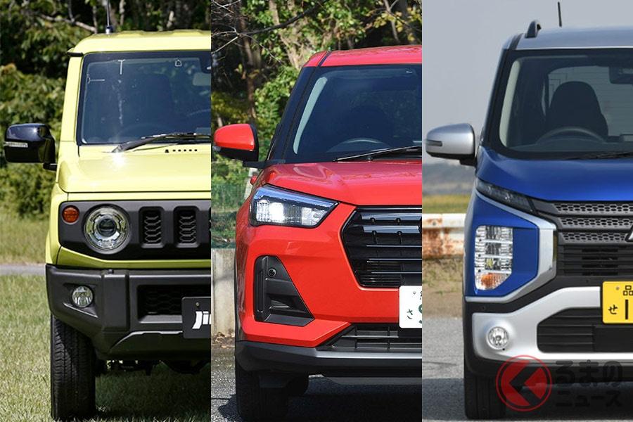 多種多様な国内市場のSUVモデル達