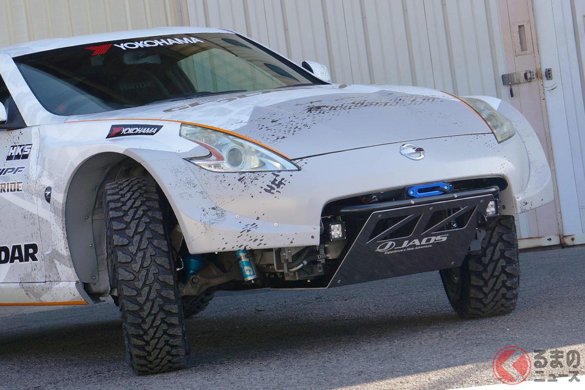 横浜ゴムが「Z×GEOLANDAR」をテーマに制作した「フェアレディZ SUV」ともいえる本格的オフロードモデル