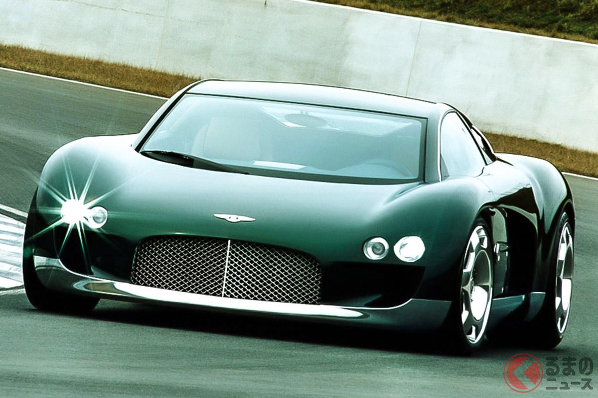 W型16気筒エンジンをリアミッドに搭載したベントレー「ユーノディエール」は、ブガッティ「ヴェイロン」の元ネタといわれている