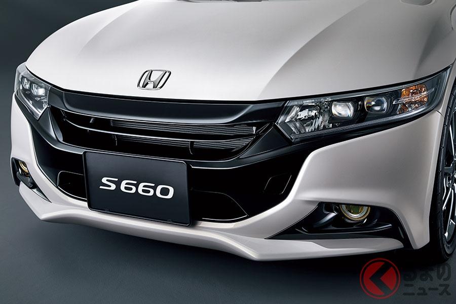 フロントフェイスキットを装着したホンダ新型「S660」