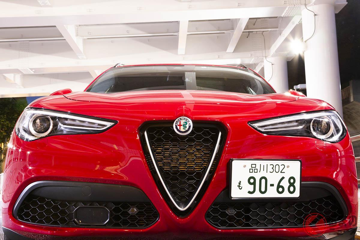 スポーツドライビングを愉しむSUVとして、もっともバリューある1台がアルファ ロメオ「ステルヴィオ2.0ターボQ4スポーツパッケージ」だ