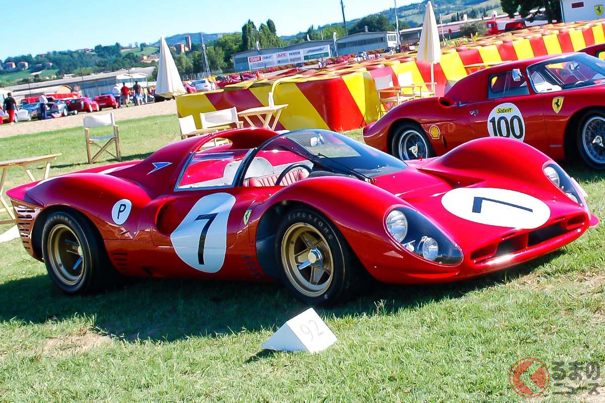 スクーデリア・フェラーリは、耐久レースでもイタリアンレッドを選んだ