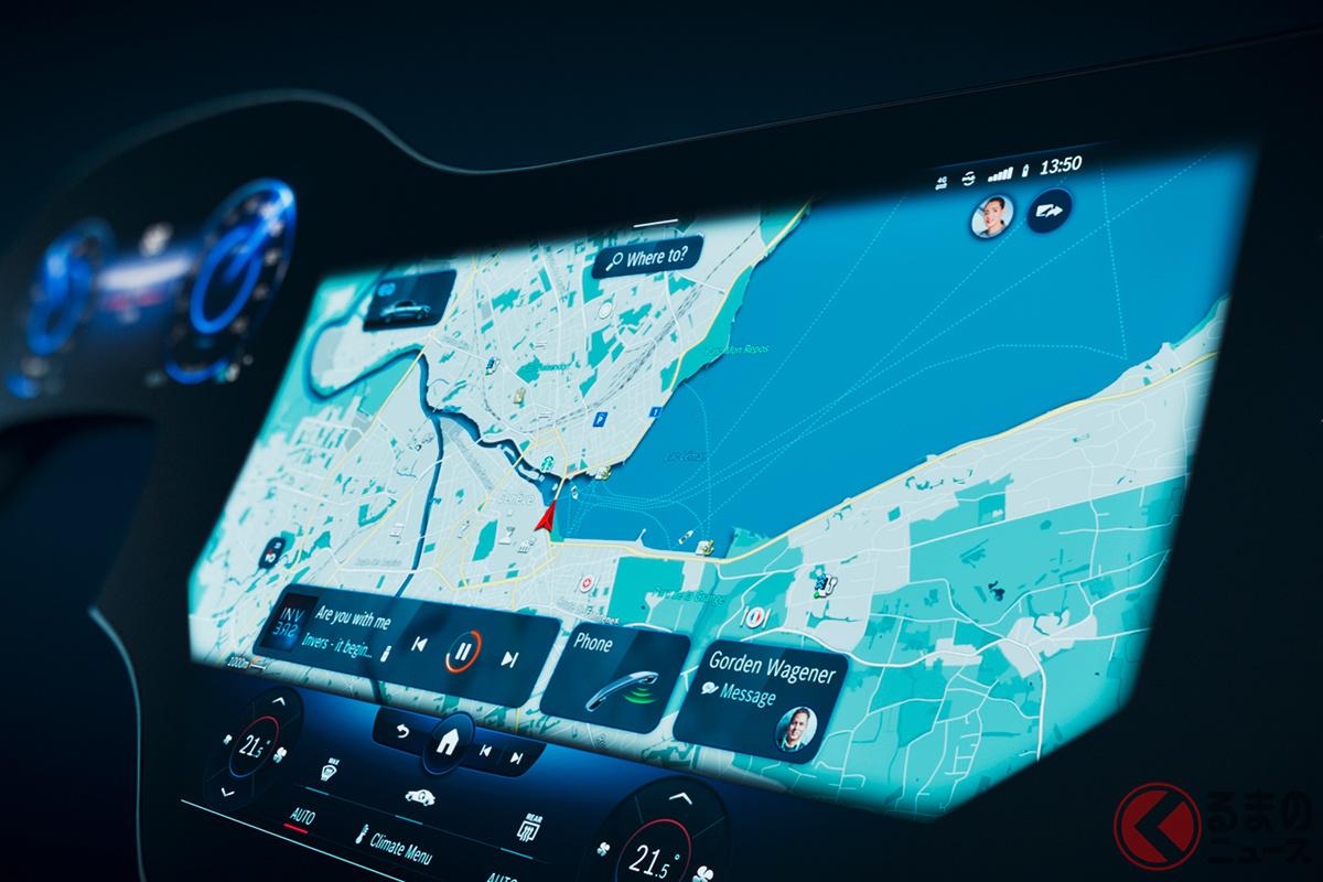 メルセデス・ベンツが発表した次世代車内システム「ハイパースクリーン」