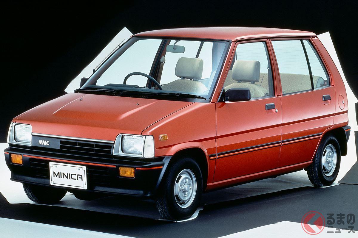 すべてを一新した新世代の軽自動車としてデビューした5代目「ミニカ」
