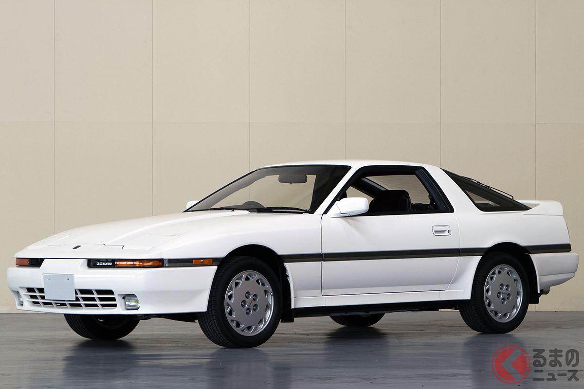 高性能なGTカーとして国内外で高い人気を誇った「スープラ3.0GT」
