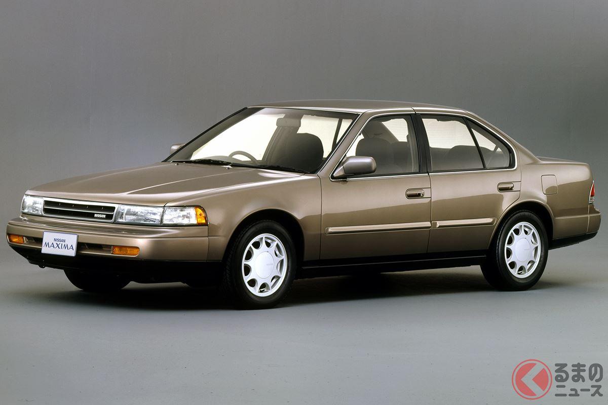 わずか3年間の販売のためにエンジンの大部分が新設計された「マキシマ」