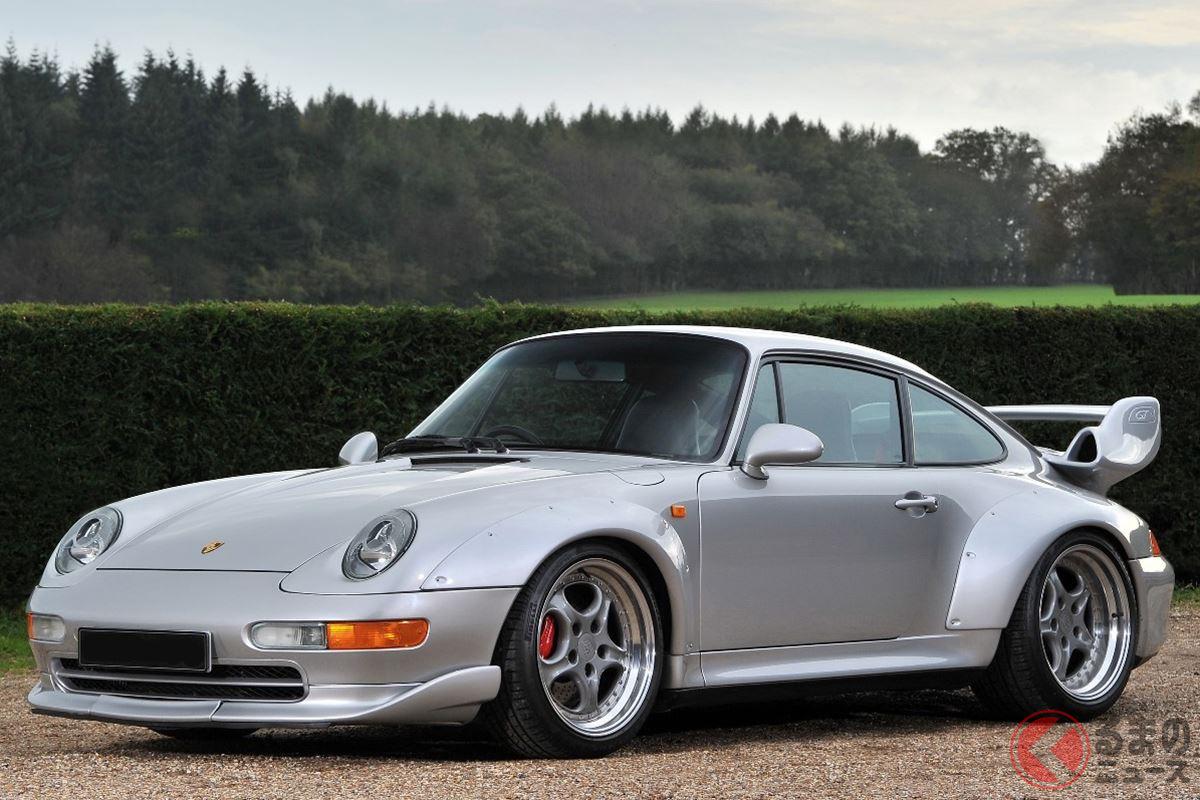 空冷モデルの集大成ともいうべき究極の進化を果たした「911 GT2」
