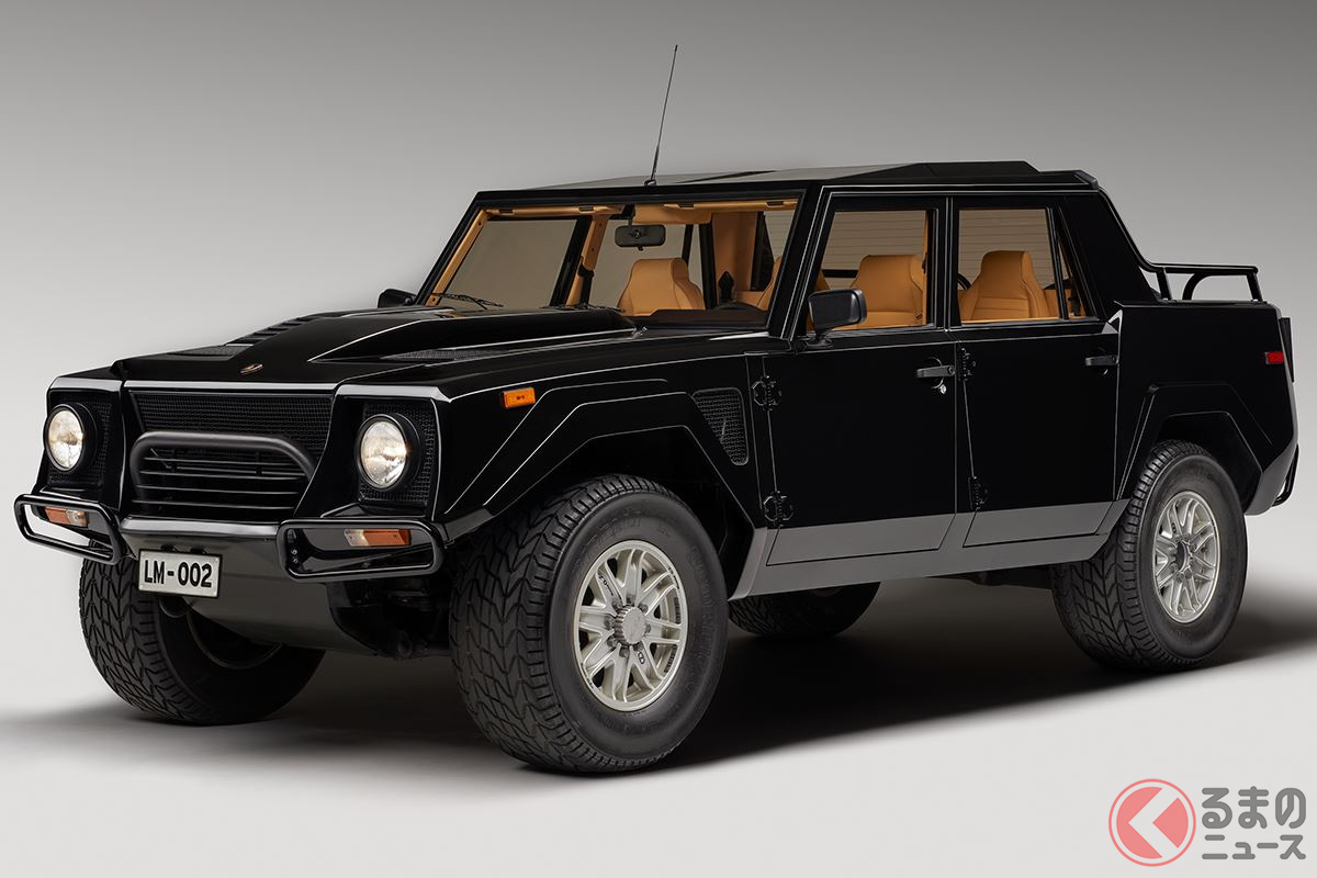 悪路走破性が高く高級SUVの先駆け的存在だった「LM002」