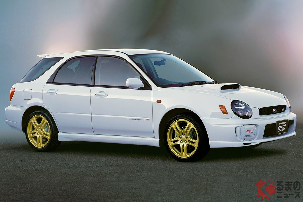 WRCで培ったテクノロジーがフィードバックされた「インプレッサ スポーツワゴンSTi」