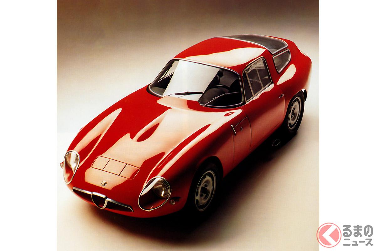 「コーダトロンカ」スタイルをさらに発展させた「ジュリアTZ」(1963年)