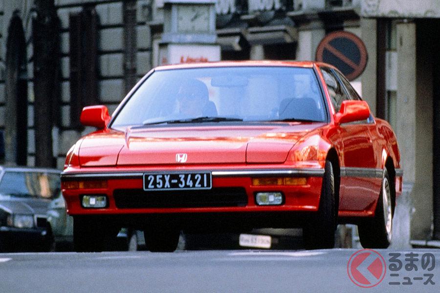 デートカーの定番車種だったホンダの3代目「プレリュード」