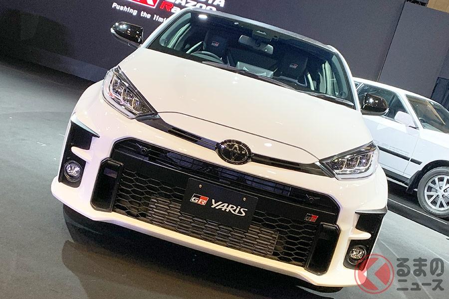 世界初公開されたトヨタ新型「GRヤリス」