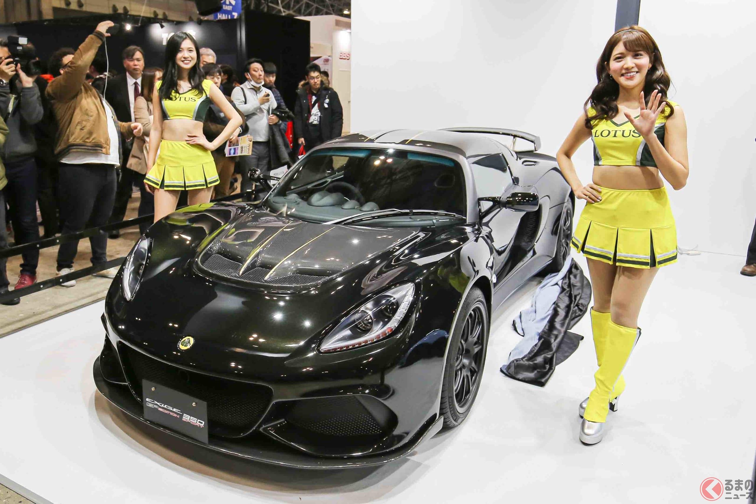 東京オートサロン2020でアンベールされたロータス・エキシージ スポーツ 350 GP EDITION