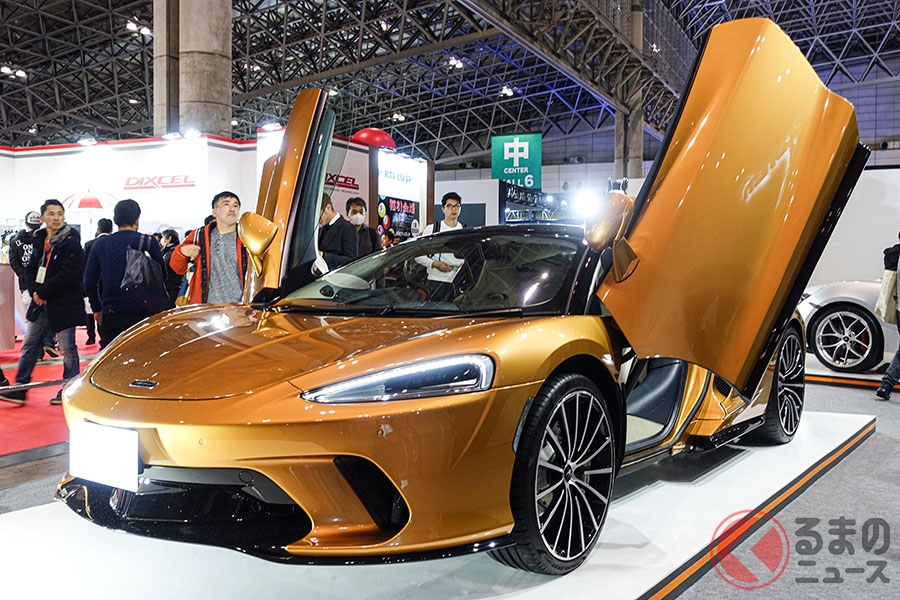 東京オートサロン2020に展示されたマクラーレンGT