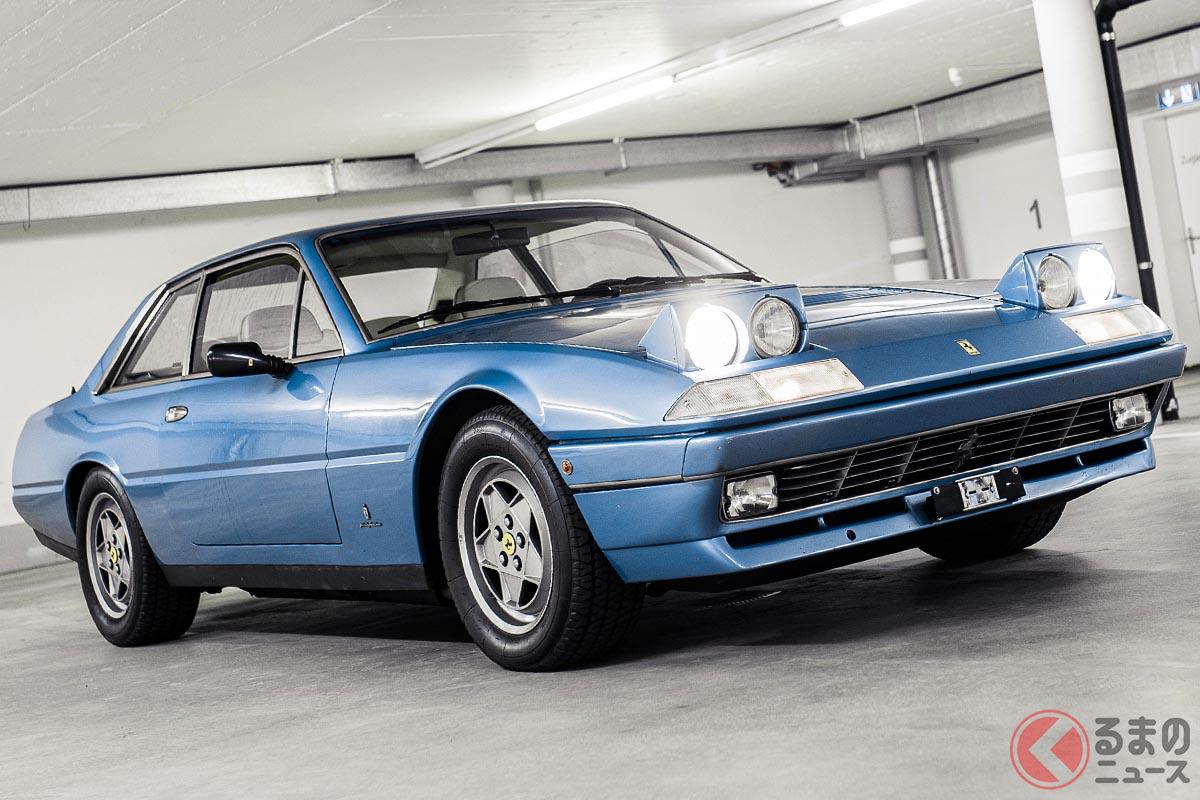 フェラーリ「412」のデザインはピニンファリーナが担当した(C)2020 Courtesy of RM Sotheby's