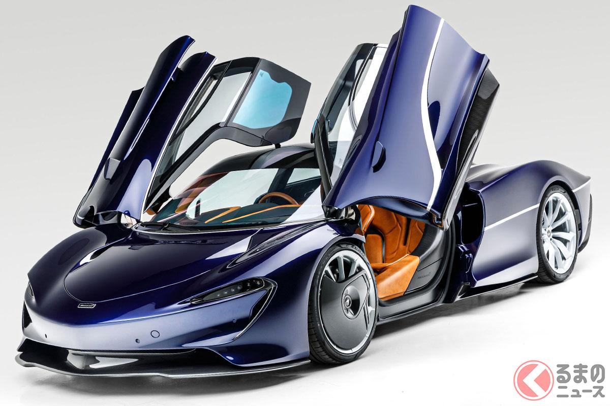 106台限定のマクラーレン「スピードテール」は、2020年にデリバリーが開始されたばかりだ(C)2020 RM Sotheby's