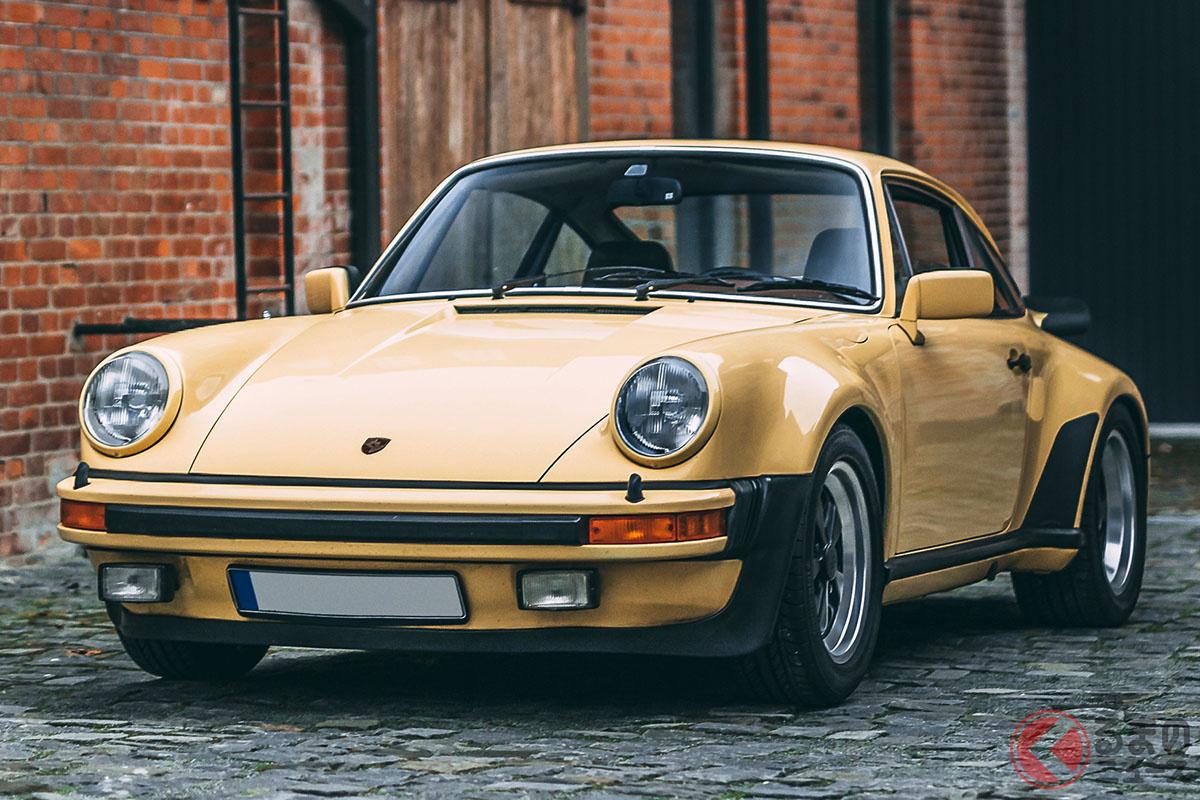 比較的初期モデルに近いポルシェ「911ターボ」
