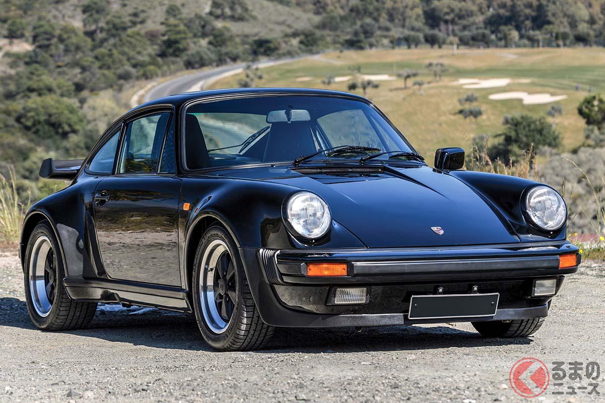 モデル末期のポルシェ「911ターボ」(C)2020 Courtesy of RM Sotheby's