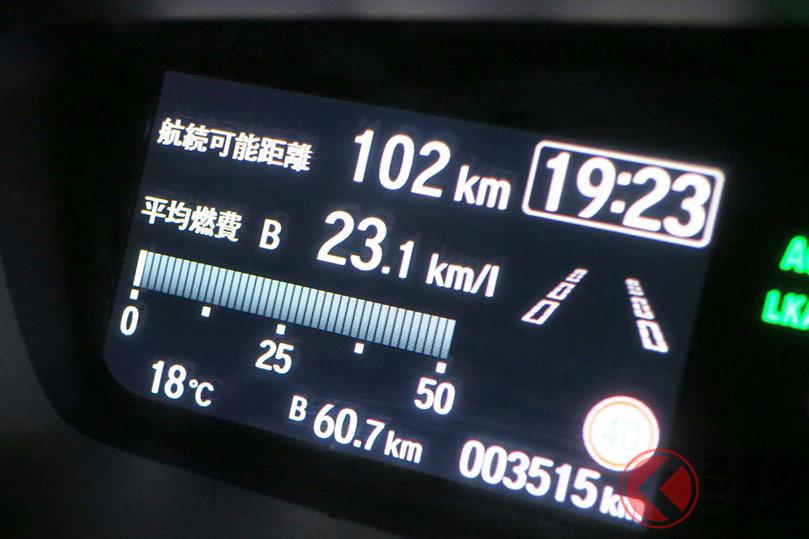 ユーザーが軽自動車の求める最低燃費は意外にも現実的?(画像はマイナーチェンジ前のホンダ「N-BOX」)