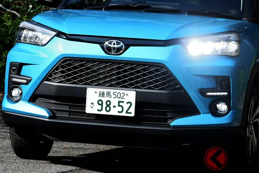SUVの売れ筋モデルのデザインはどう変化している?(写真はトヨタ「ライズ」)