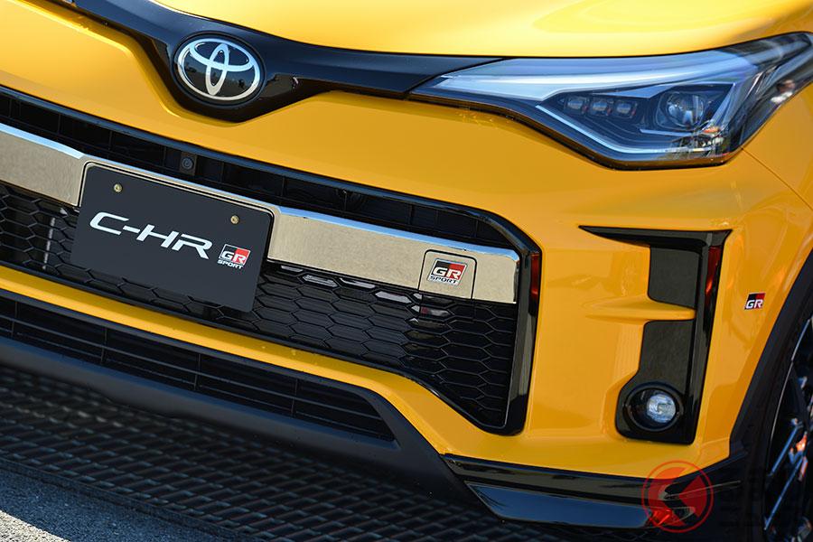 6速MTを追加設定したトヨタ「C-HR GRスポーツ」