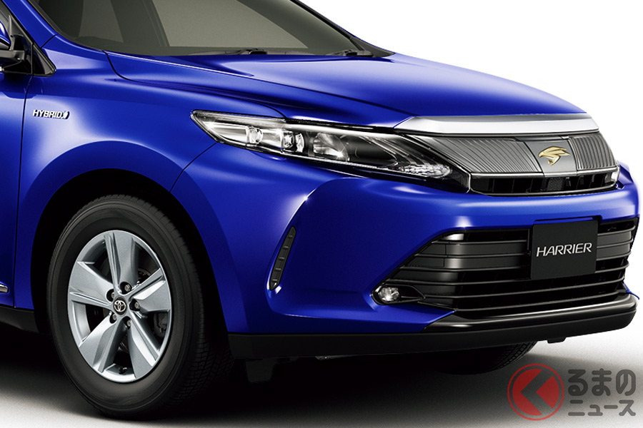 2013年に発売されたトヨタ3代目「ハリアー」