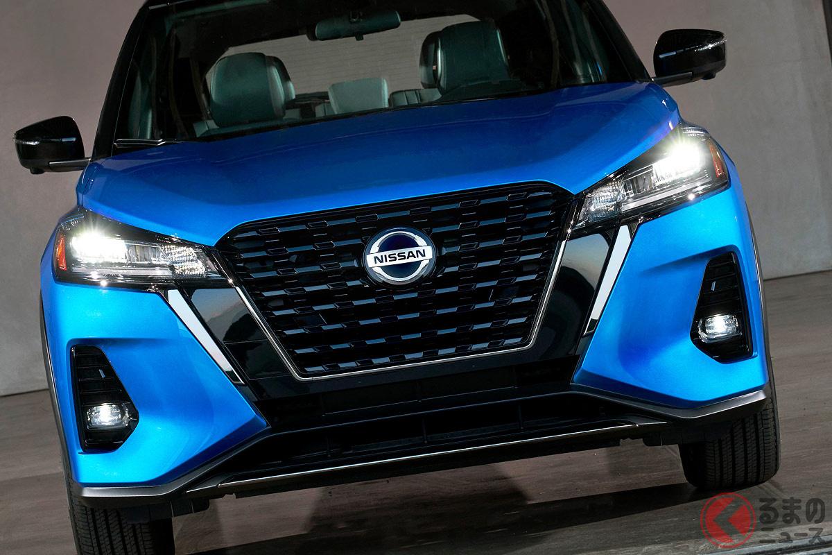 北米日産が2021年2月5日に発売した新型「キックス(2021年モデル)」。日本仕様とは、どこが異なる部分?
