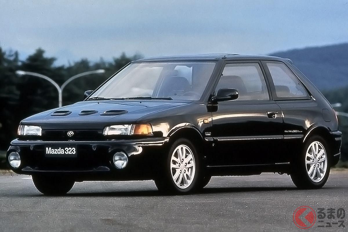 シリーズ最後のハイパワーモデルとなった「ファミリア GT-R」(画像は欧州仕様)
