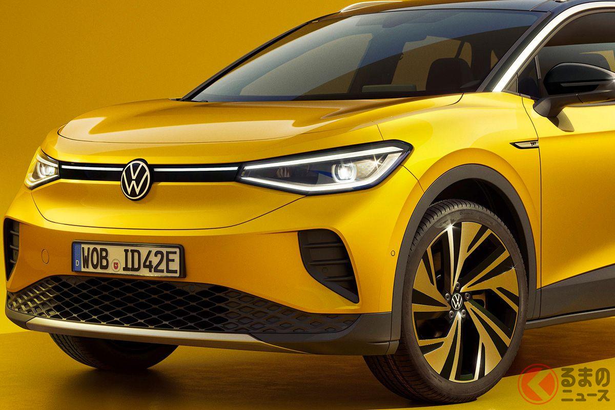 コンパクトSUVタイプのEV、VW「ID.4」