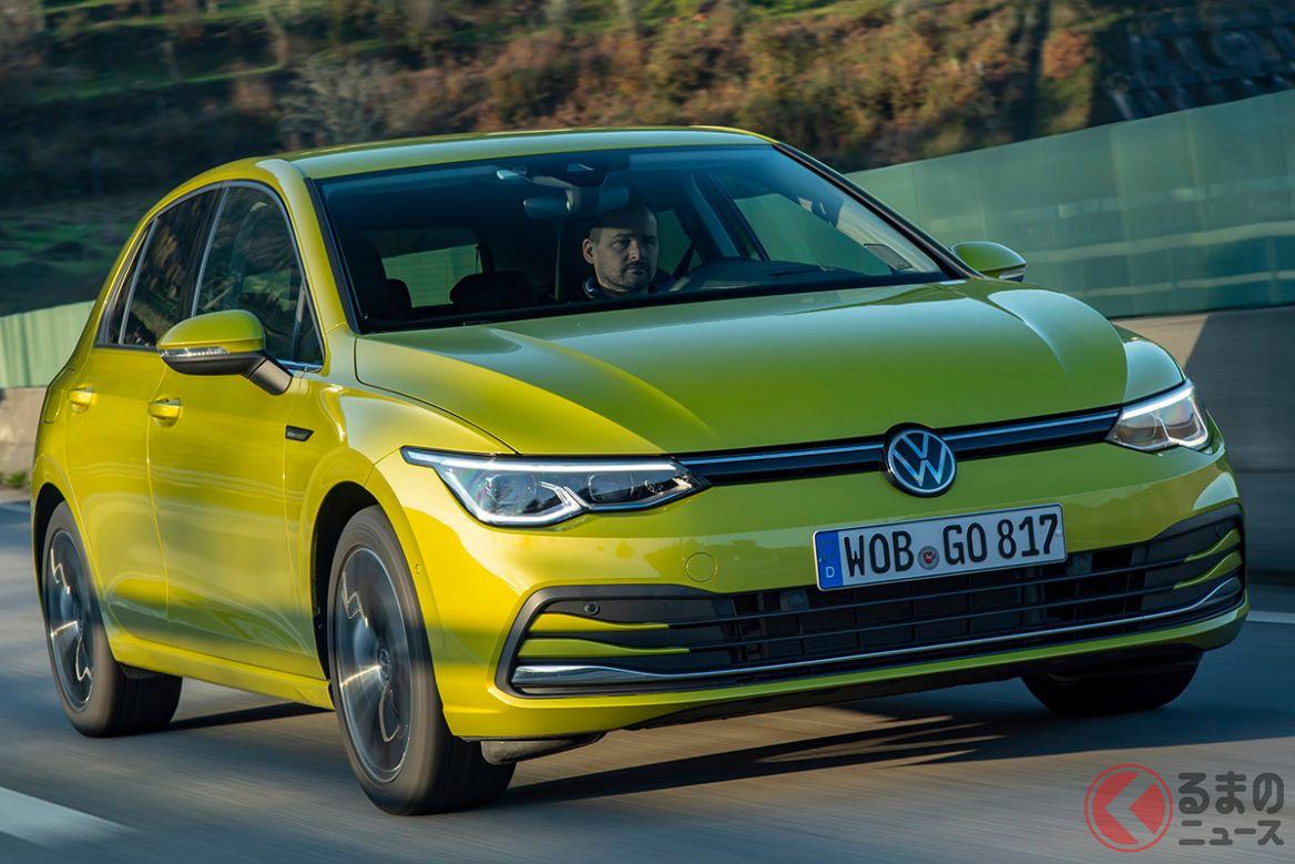 VW新型「ゴルフ」の走り