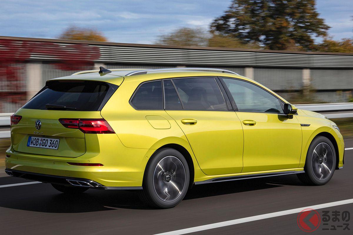 VW新型「ゴルフヴァリアント」