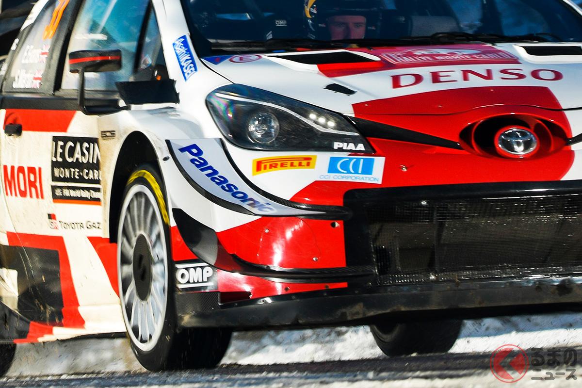 WRCの2021年シーズンに参戦するトヨタ「ヤリスWRC」