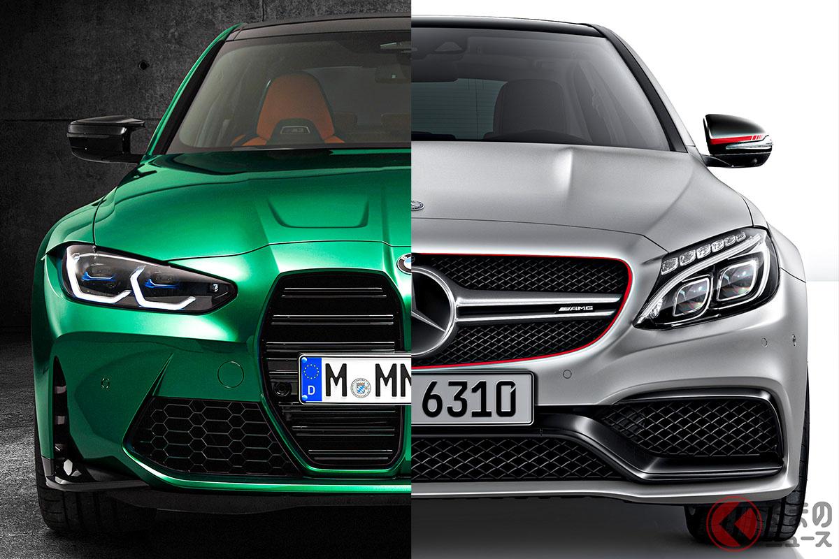 「M3」と「C63」は、車両価格やパワーなどほぼ拮抗したライバル同志である