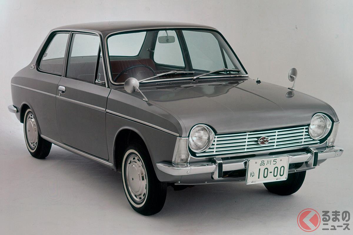 爆発的に普及したFFコンパクトカーの元祖といえる「スバル1000」