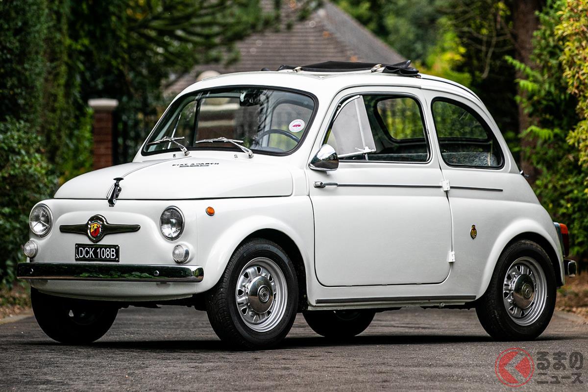 イタリアの大衆車ながら立派なスポーツカーへと変身した「595」