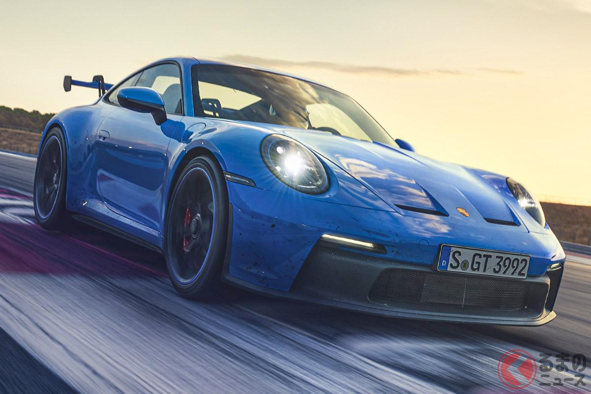 ニュルブルクリンクのノルトシュライフェのラップタイムは、先代よりも17秒速くなった「911 GT3」