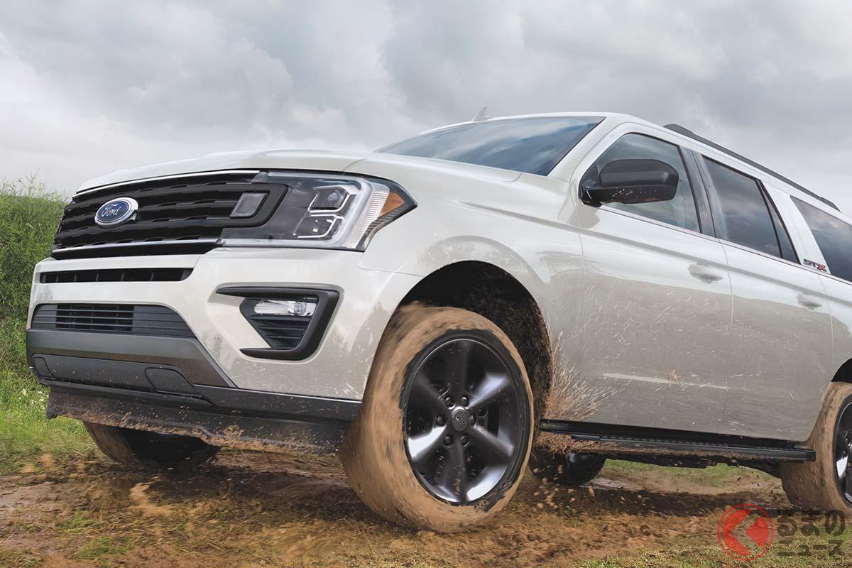 フォード「エクスペディション XL STXパッケージ」2021年モデル