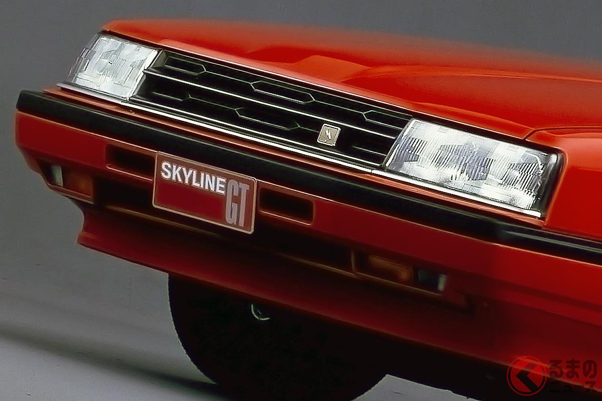 アグレッシブなデザインが採用されていた昔の日産車たち