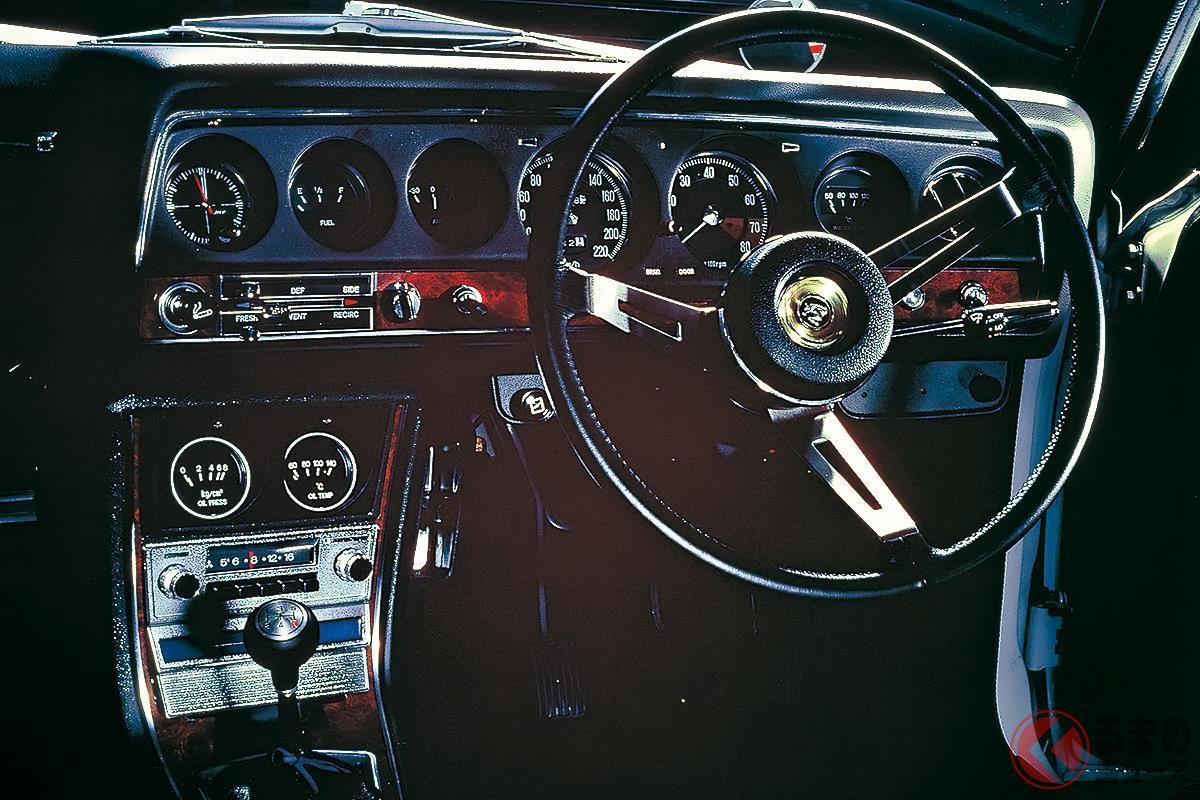 見た目にも高性能さが感じられる「コルトギャラン GTO MR」のコクピット