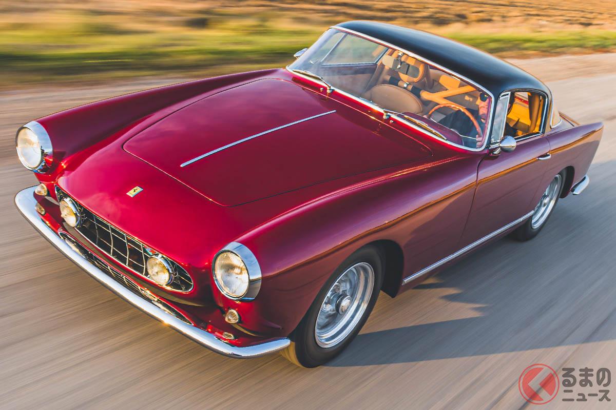2020年の「シフトモントレー」で落札された「F40」とほぼ同額だったフェラーリ「250GT アロイ クーペ by ボアーノ」(C)2020 RM Sothebys