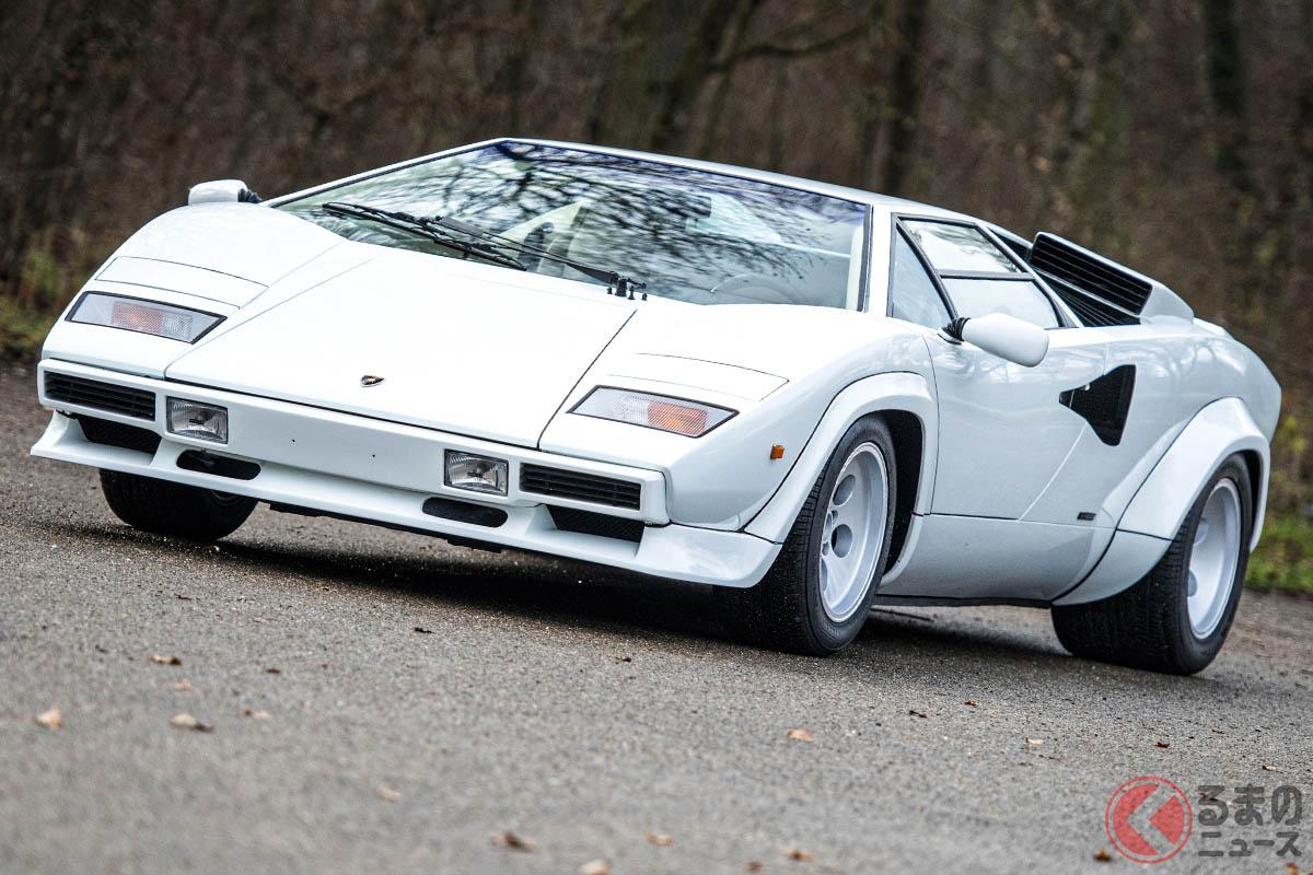 1980年代も現役スーパーカーだったランボルギーニ「カウンタックLP500 S」(C)2021 Courtesy of RM Sotheby's