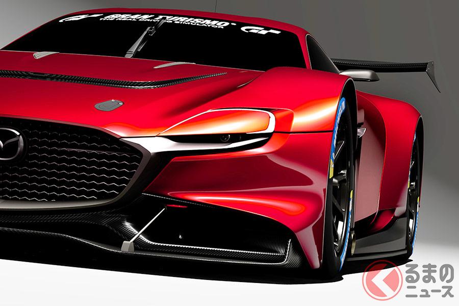 現実世界でも見てみたい!MAZDA RX-VISION GT3 CONCEPT