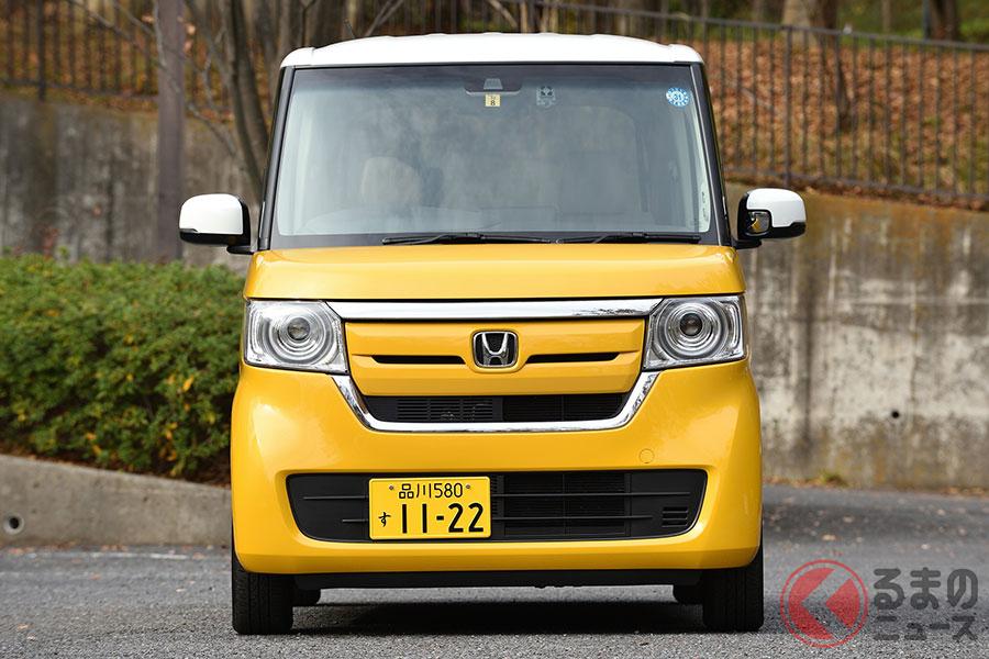 日本で一番売れているホンダ「N-BOX」