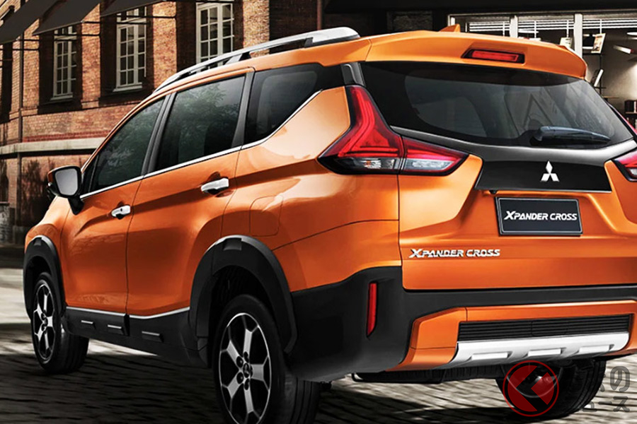 三菱のアジア市場向けSUV「エクスパンダークロス」